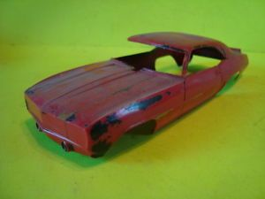 1/25 Scale Model Cars