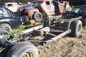 1976 Corvette Parts Car Part Rolling Chassis Rat Rod Hot Rod Barn Find Scta
