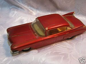 "1959 Fleetwood Cadillac Johan Vintage Model Car 1 25 Scale 8"" Promo Parts"