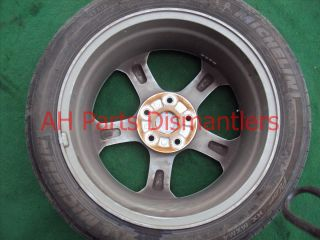 09 10 11 Acura TL 18 inch One Aluminum Alloy Wheel Rim Disc Some Scratches
