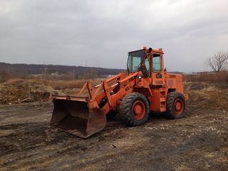 Michigan Clark Volvo Wheel Loader Payloader Cab Heat Low Hours 45c