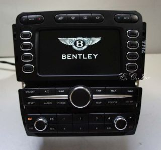 Bentley Continental GT Navigation Radio Stereo Display Head Unit AC Control
