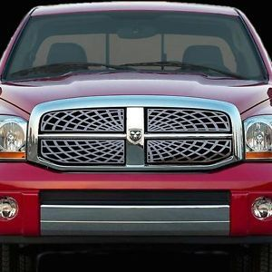 Dodge RAM 06 08 Spiderweb Front Grille Polished Stainless Billet Truck Parts