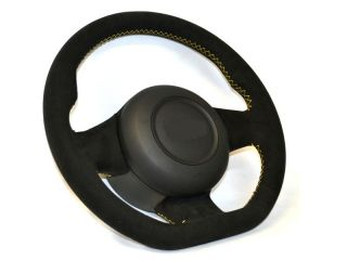 Lamborghini Gallardo Steering Wheel All Alcantara re Wrap Extra Thick Padding