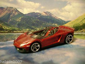 Lamborghini Aventador J 2013 Hot Wheels All Stars Series Red