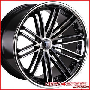 "20"" Mercedes Benz W220 S350 S430 S500 Rohana RC20 Concave Machined Wheels Rims"