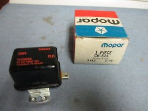 Chrysler Dodge Mopar Plymouth 2098300 Voltage Regulator 1961 1969 New Parts