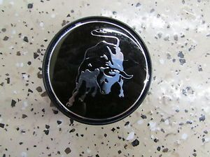 Lamborghini Gallardo Standard Bull Center Wheel Cap Black Used P N 400601147