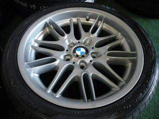 18 Factory BMW E39 M5 Wheels 525i 528i 530i 540i Sport M E34 840i 850i Tires