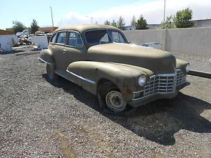 1946 Series 61 Cadillac 4 Door Sedan for Parts No Title Bill of Sale Only