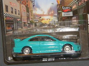 HW Hot Wheels 2012 Boulevard Honda Civic Coupe Big Hits Hotwheels Teal