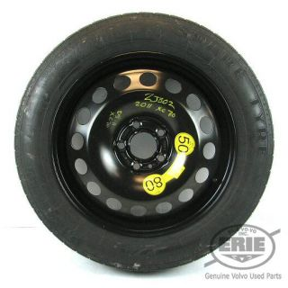 Volvo Pirelli 135x90 R17 Spare Wheel Tire Combo for XC70 08 11
