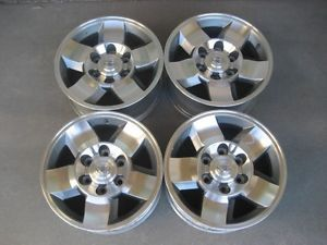 Toyota FJ Cruiser Tacoma 16 Alloy Wheels Rims Center Caps 4Runner Tundra