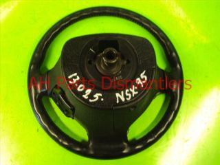 91 92 93 94 95 96 97 98 99 Acura NSX Steering Wheel Black 78510 SL0 A82ZA