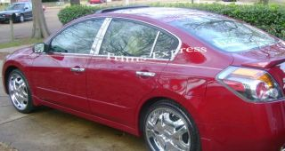 2007 2011 2010 Nissan Altima Sedan Chrome Pillar Post