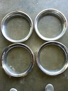 Original 15' Chevy GMC Truck Rally Wheel Beauty Rings 1973 1987