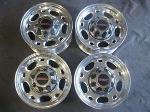 "GMC Sierra 16"" x 6 5"" Factory Alloy Wheels GMC 2500HD Rims Duramax Chevy"
