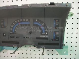 Chevy GMC Interior Dash Instrument Cluster Speedometer Assembly Analog 25089152