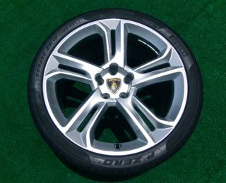 Set Perfect Original Factory Lamborghini LP560 Apollo Wheels Tires Gallardo