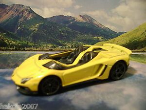 Lamborghini Aventador J 2014 Hot Wheels All Stars Series Yellow