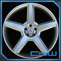 "Mercedes Benz MBZ 22"" inch Wheels Rims Fits s CL Class S550 CL550 S500 CL500 600"