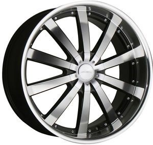 "22"" Ace Executive Black Wheels Rims Mercedes Benz AMG G Wagon 5 130"