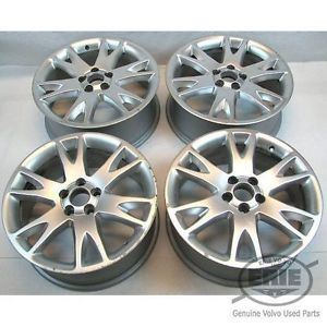 4 Volvo 18x7 Atlantis Alloy Rims Wheels 30695339 for XC90 2003 2012