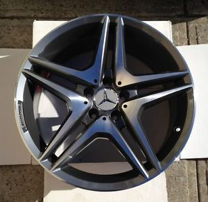 "18"" AMG Wheels Staggered Gunmetal Rims Fits Some Mercedes Benz C E s CLK Class"