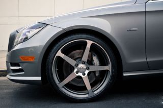 "20"" Benz W218 CLS550 CLS63 CLS CEC C884 Gunmetal Concave Staggered Wheels Rims"