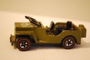 1970 Hot Wheels Redline US Army Jeep
