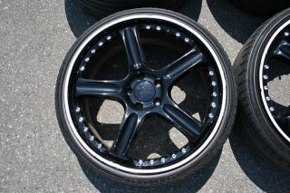 "20"" Maya DRS Wheels Lamborghini Gallardo Continental SPORTCONTACT2 Tires"