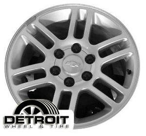 Chevrolet GMC Isuzu Canyon Colorado Isuzu Factory Wheel Rim 5228 Silver