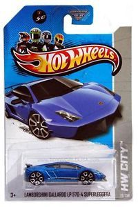 2013 Hot Wheels 29 Night Burnerz HW City Lamborghini Gallardo LLP 570 4 Superle