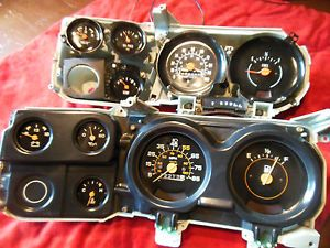 2 1973 1987 Chevy GMC Truck Blazer Suburban Dash Clusters for Parts Hot Rat Rod