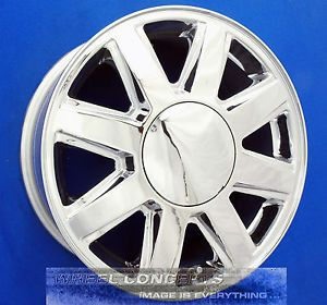Buick Rainier 17 inch Chrome Wheels Rims Chevy Trailblazer GMC Envoy XL XUV SUV