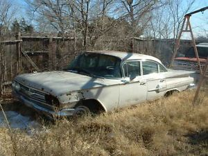 1960 Chevy Chevrolet Impala Project Hot Rod Rat Rod Parts
