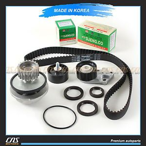 Engine Timing Belt Tensioner Water Pump Kit Daewoo Lanos 1 6L DOHC A16