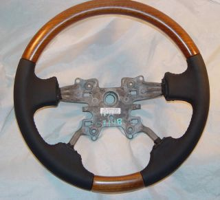 Land Rover Range Rover Sport 2006 2013 Walnut Wood Steering Wheel Custom