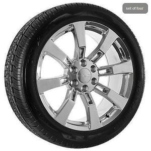 "22"" GMC Truck Wheels Rims Tires Chrome Yukon Denali Sierra Truck"