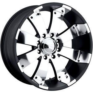 20x10 Black American Eagle 64 Wheels 8x6 5 21 Lifted Hummer H2
