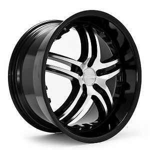 "20"" P58 Wheels Tires Mercedes VW Rims 5 112 BMFBL"