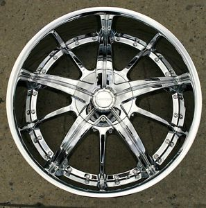 Limited 097 22 x 9 5 Chrome Rims Wheels Buick Enclave 07 Up 6H 30