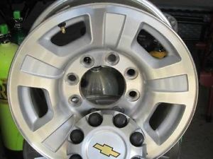"17"" Chevy GMC Alloy Wheels Rims Duramax Silverado Factory Sierra 2500HD 05"