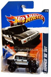 2011 Hot Wheels HW Main Street 161 Hummer H2 SUT
