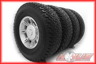 "17"" Hummer H2 Silver Wheels Tires Silverado Dodge 2500 20"