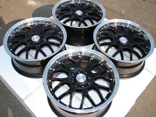 16x7 New Racing Wheels Rims Accord Civic Rio 5 Miata Cooper Acura CL TC TL Vigor
