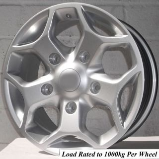"16"" Ford Transit Van 330 2 4L Tdci 100 PS Low Roof SWB Alloy Wheels 5x160"