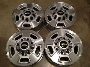 Chevy Duramax Wheels 2500HD Rims 3500 GMC Silverado 17 Rims Caps