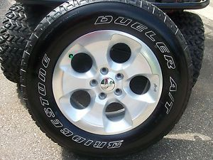 2013 Jeep Wrangler 18'' Wheels and Tires