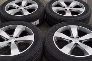 "Jeep Grand Cherokee Overland 20"" Wheels Rims Tires 2014"